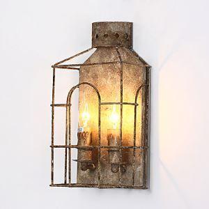 壁掛けライト ウォールランプ ブラケット 工業照明 北欧照明 2灯 LB50291