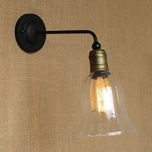 壁掛けライト ウォールランプ ブラケット 工業照明 北欧 1灯 LB54326