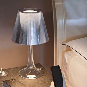 テーブルランプ 卓上照明 テーブルライト アクリル製照明 透明 1灯