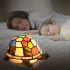 テーブルランプ ティファニーライト ステンドグラスランプ 卓上照明 間接照明 カメ型 1灯 贈り物