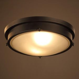 シーリングライト リビング照明 レトロな照明器具 天井照明 メタル製 1灯