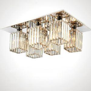 シーリングライト クリスタル照明 天井照明 リビング照明 6灯