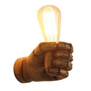 壁掛けライト ウォールランプ 玄関照明 階段照明 握りこぶし型 1灯 CYBD109