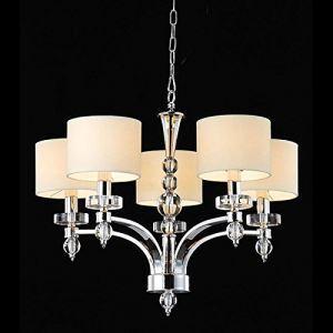 シャンデリア 照明器具 天井照明 インテリア照明 クリスタル付き エレガント 5灯 LTB520719