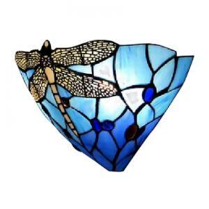 ティファニーライト 壁掛けライト 壁掛け照明 段階照明 ステンドグラス製 1灯 BEH275529