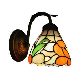 ティファニーライト 壁掛けライト 壁掛け照明 ウォールランプ ステンドグラス製 めでたい鳥 1灯 BEH303232