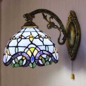 ティファニーライト 壁掛けライト 壁掛け照明 ウォールランプ ステンドグラス製 バロック風 1灯 BEH403612