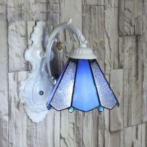 ティファニーライト 壁掛け照明 ステンドグラスランプ ウォールライト 照明器具 1灯 BEH403920