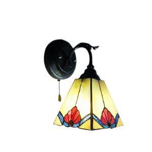 ティファニーライト 壁掛けライト 壁掛け照明 ウォールランプ ステンドグラス製 1灯 BEH275507