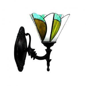 ティファニーライト 壁掛けライト 壁掛け照明 ウォールランプ ステンドグラス製 1灯 BEH275500