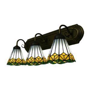 ティファニーライト 壁掛けライト 壁掛け照明 ウォールランプ ステンドグラス製 3灯 BEH303564