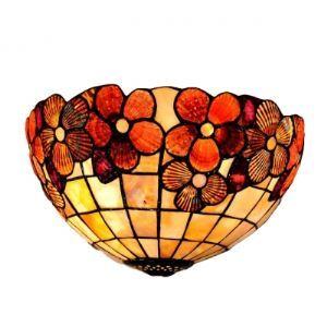 ティファニーライト 壁掛けライト 壁掛け照明 ウォールランプ ステンドグラス製 1灯 BEH306301