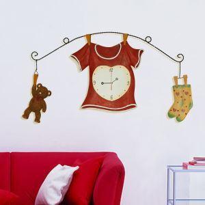壁掛け時計 静音時計 子供屋用時計 創造的