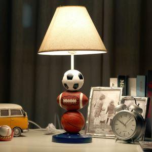 テーブルランプ 卓上照明 読書灯 子供屋用照明 サッカー型台座 B
