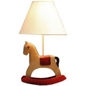 テーブルランプ 卓上照明 読書灯 子供屋用照明 木馬型台座