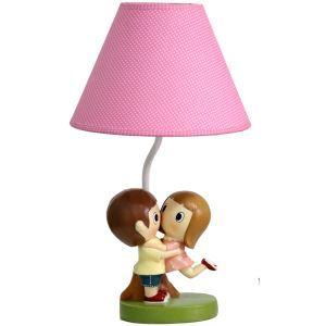 テーブルランプ 卓上照明 読書灯 子供屋用照明 恋人型台座