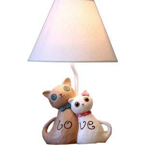 テーブルランプ 卓上照明 読書灯 子供屋用照明 猫型台座