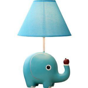 テーブルランプ 卓上照明 読書灯 子供屋用照明 象型台座 A