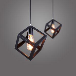 ペンダントライト 工業照明 天井照明 玄関照明 照明器具 方体型 1灯 CY-DD-120
