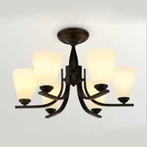 シーリングライト 天井照明 照明器具 リビング照明 北欧風 ビンテージ 6灯 CYDD354