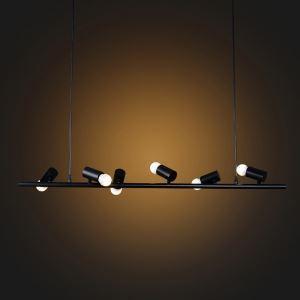 ペンダントライト 天井照明 北欧風照明 照明器具 黒/白 6灯 CYDD382