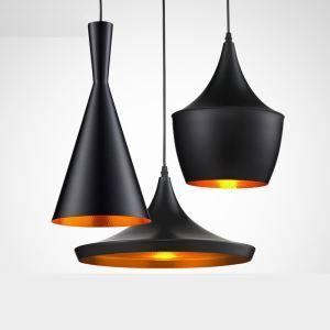 ペンダントライト 天井照明 工業照明 北欧風照明 黒色&円形 3灯
