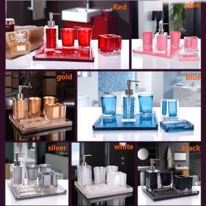 浴室用品 サニタリー容器 樹脂製 創造的 5点セット BE017