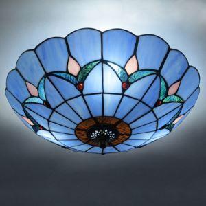 ティファニーライト シーリングライト ステンドグラス 天井照明 2灯 BEH404204