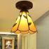ティファニーライト シーリングライト ステンドグラス 天井照明 1灯 BEH399375