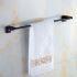 タオル掛け 浴室タオルバー タオルハンガー タオル収納 真鍮製 アンティーク調 ORB
