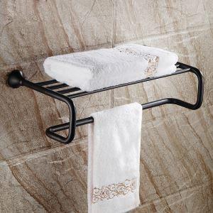 タオル掛け 浴室タオルラック 壁掛けハンガー タオル収納 バスアクセサリー ヴィンテージ ORB 01WA007