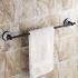 タオル掛け 浴室タオルバー 壁掛けハンガー タオル収納 バスアクセサリー アンティーク調 ORB LWA170
