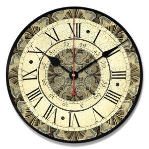 壁掛け時計 静音時計 インテリア時計 産業革命時代