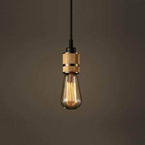 ペンダントライト 天井照明 ミニ玄関照明 電球照明 レトロ照明 1灯 BEH371542