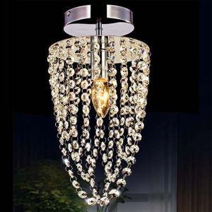 シーリングライト 照明器具 天井照明 玄関用 食卓用 クリスタル付 姫系 1灯
