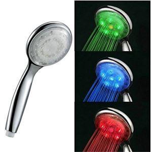 7色LEDハンドシャワー シャワー水栓 シャワー製品