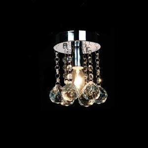 【送料無料】シーリングライト クリスタル照明 玄関照明 天井照明 ミニ照明器具 1灯 HL001