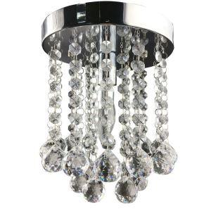 【送料無料】シーリングライト クリスタル照明 玄関照明 天井照明 ミニ照明器具 1灯 HL002