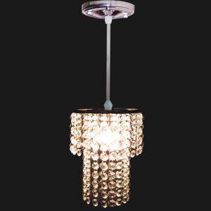 【送料無料】ペンダントライト 照明器具 玄関照明 天井照明 オシャレ クリスタル 1灯 HL009