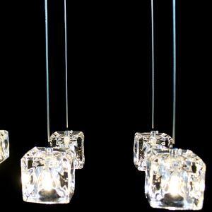 【送料無料】LEDペンダントライト クリスタル照明 照明器具 玄関照明 天井照明 1灯 HL010