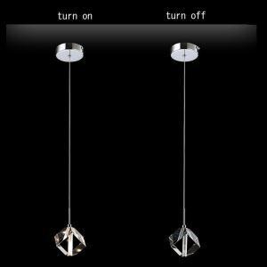 【送料無料】ペンダントライト 照明器具 玄関照明 ダイニング照明 オシャレ クリスタル 1灯 HL0108