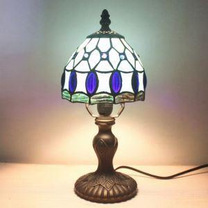 テーブルライト ステンドグラスランプ ティファニーライト 卓上照明 寝室照明 デスクスタンド 1灯 BEH275430