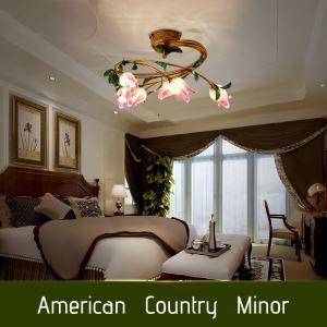 LEDシーリングライト 照明器具 リビング照明 店舗照明 寝室照明 瑠璃 ボヘミア風 6灯 LED対応 RI003