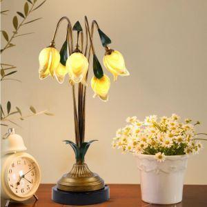 LEDテーブルランプ 卓上照明 LED瑠璃照明 テーブルライト 5灯 LED対応 RI010