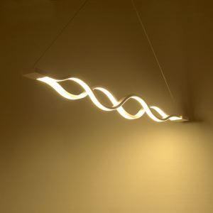 LEDペンダントライト 照明器具 天井照明 アクリル照明 波型 LED対応 1層 CI-378