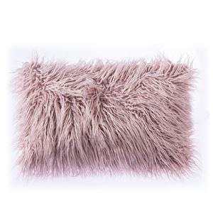 クッションカバー 抱き枕カバー 人工アフリカンラム 人工毛皮 5色 北欧風 30*50cm 06DP024