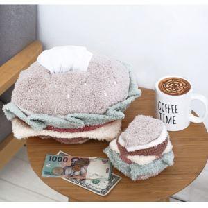 ぬいぐるみ 抱き枕 クッション ティッシュカバー パン プレゼント DP29005