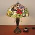 テーブルランプ ステンドグラスランプ ティファニーライト 卓上照明 2灯 D40cm STL024