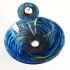 純色洗面ボウル&蛇口セット 洗面台 洗面器 手洗器 手洗い鉢 洗面ボール 排水金具付 渦巻き柄 LC6859WF
