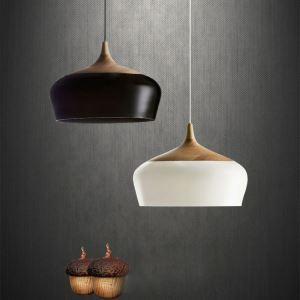ペンダントライト 天井照明 照明器具 食卓照明 リビング照明 玄関照明 北欧風 レトロ 1灯 2色